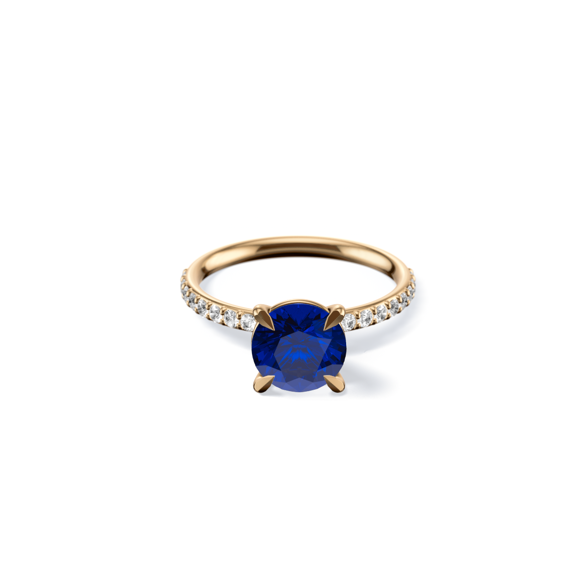 The Solitaire Pavé